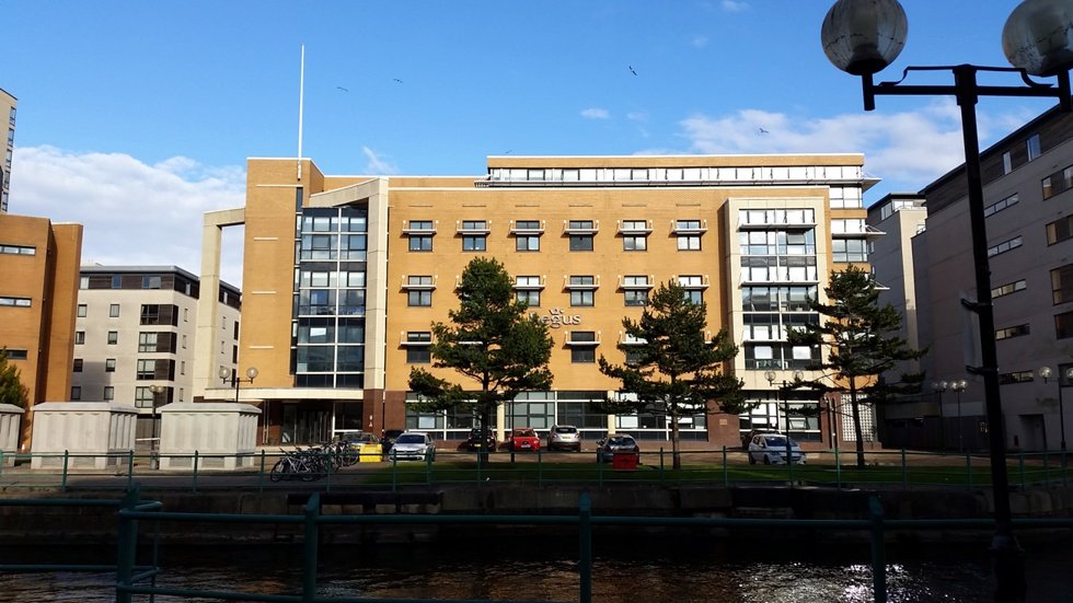 New offices for Cardiff based Web company Eazyweb in Cardiff Bay